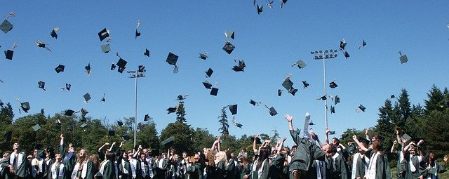 Graduation ceremony for IT graduates looking for work