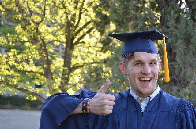 Graduate illustrating CV lie 2 - inflating your grades