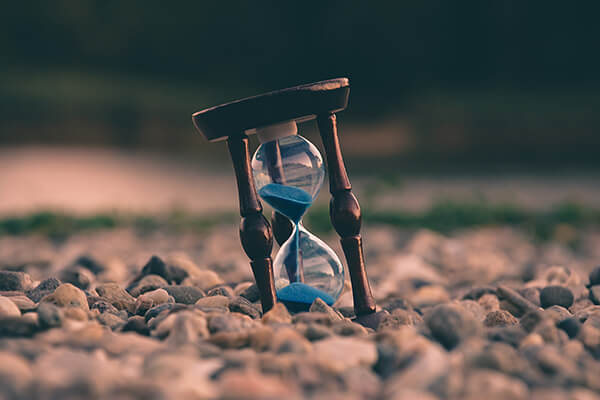 Image Of Sand Timer - Law Firms Hiring IT Staff