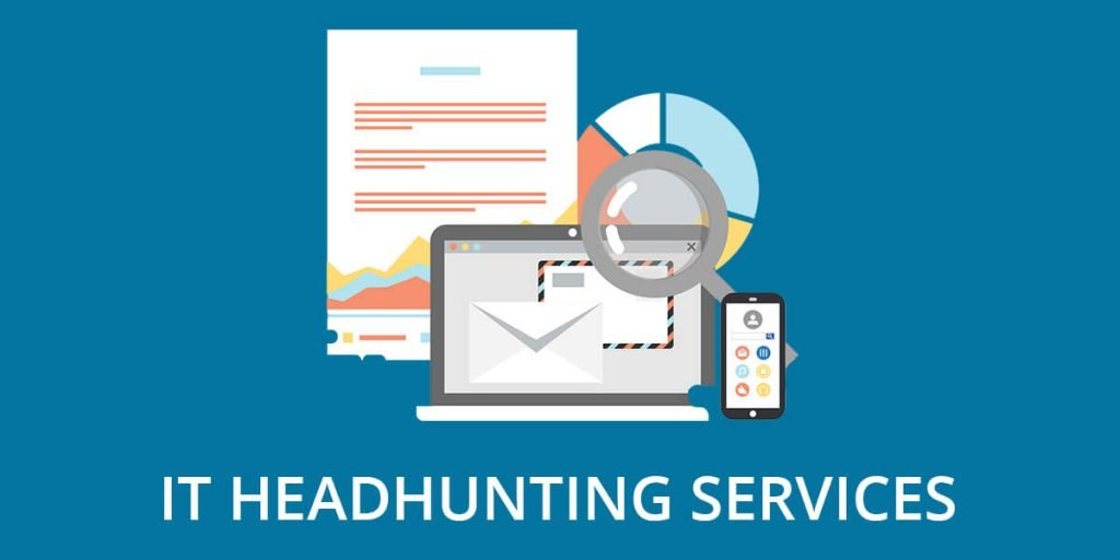 Header image featuring the words 'IT Headhunting Services'