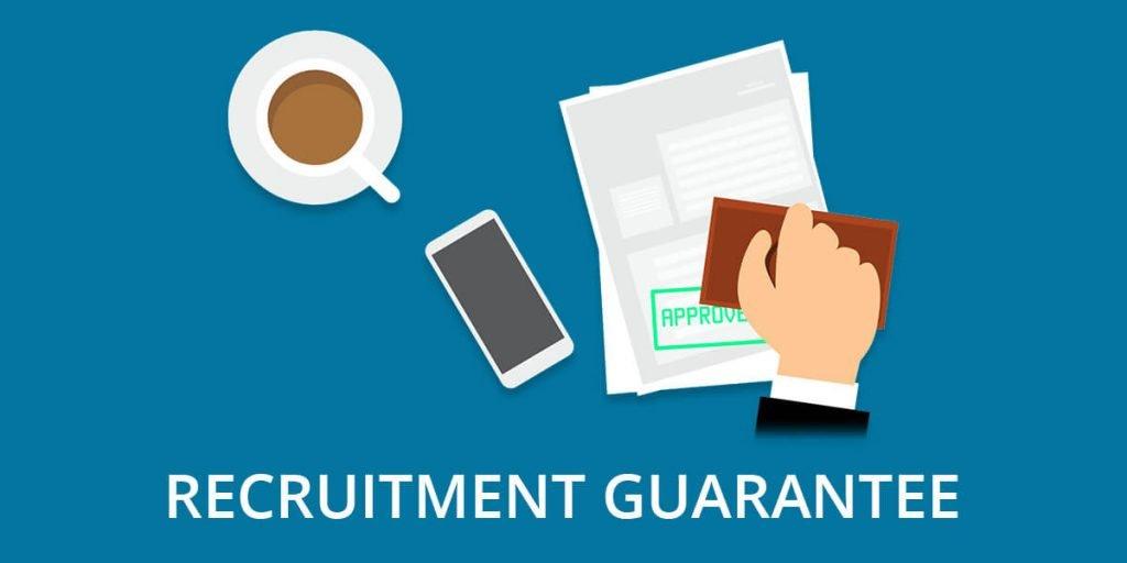 Recruitment guarantee header image